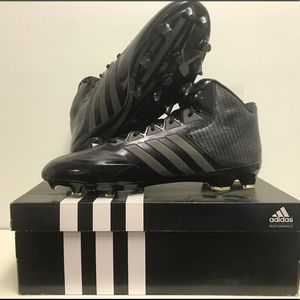 Adidas New in Box CRAZYQUICK MID Black size 14